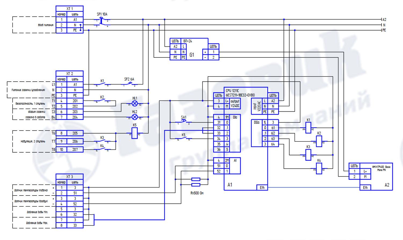 Электрическая схема щита управления вентиляцией фото 74