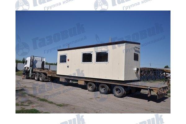 Отгрузка котельной установки ТКУ-1400
